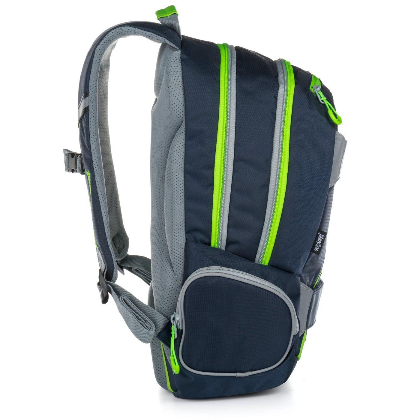 ... Studentský batoh OXY Sport NEON LINE Dark Blue Bez licence · Image. OXY 19729eb469